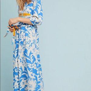 Mauve Belted Kimono Dress